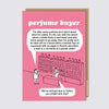 Perfume Request Card