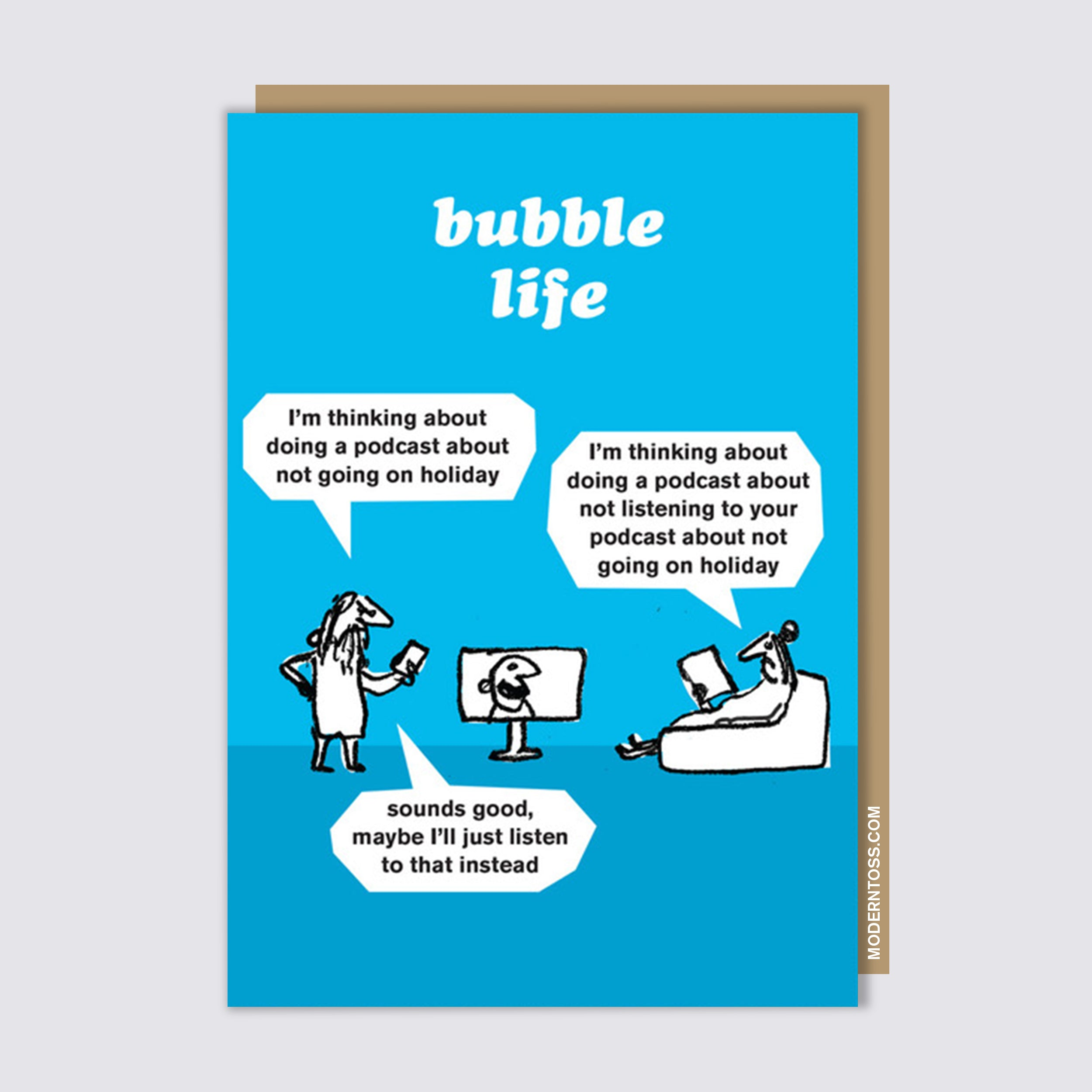 Bubble Life Podcast Card