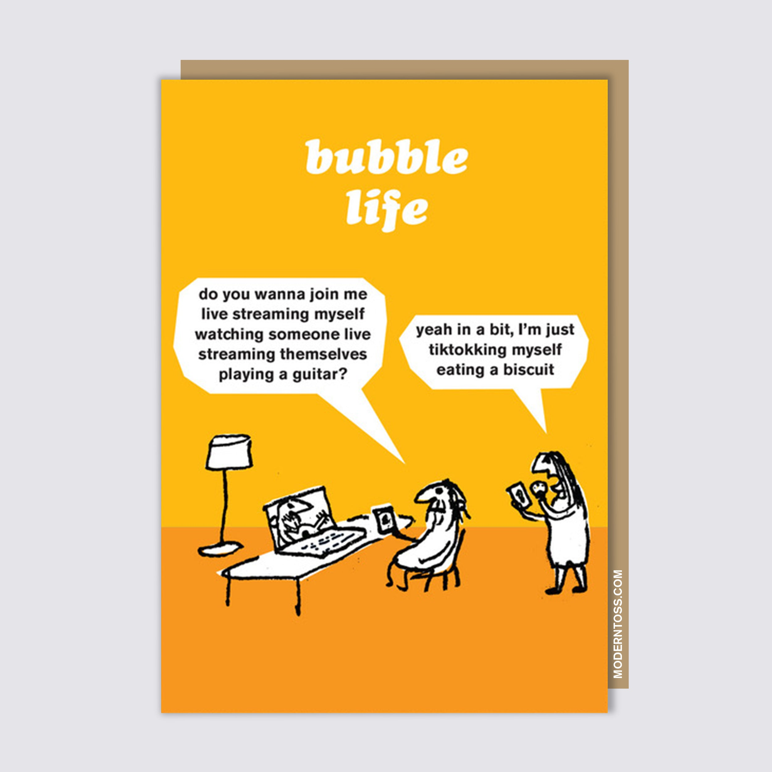 Bubble Life Streaming Card