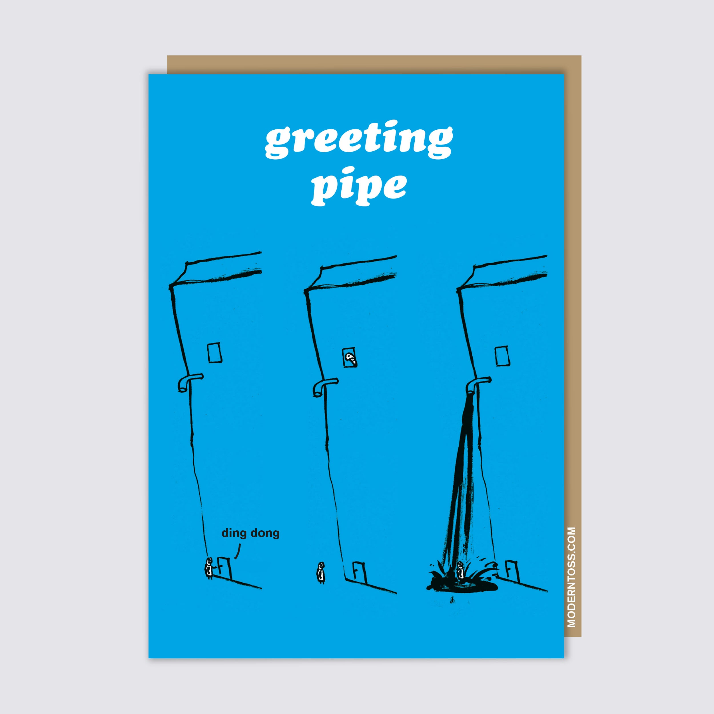 Greeting Pipe Card