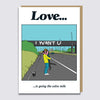 Love Bridge Card