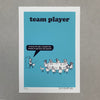 Team Player Screen Print