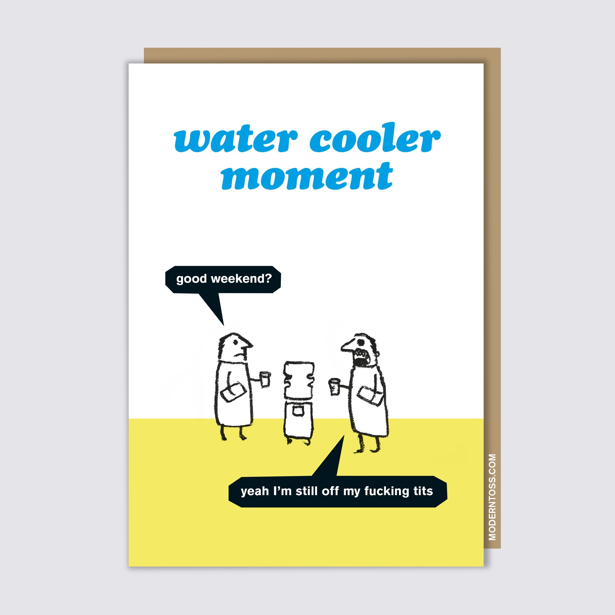 Water Cooler Card