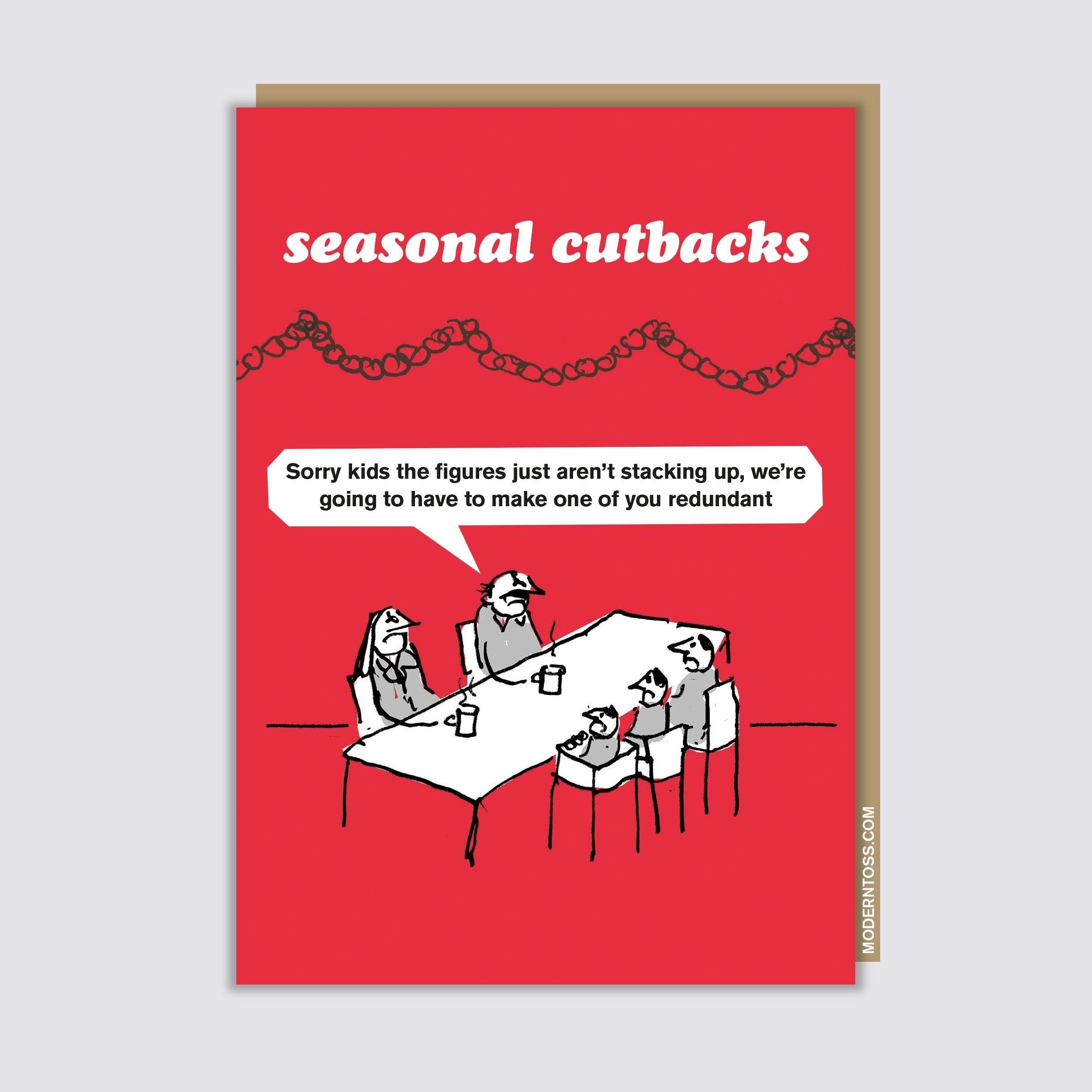 Seasonal Cutbacks Kids Card
