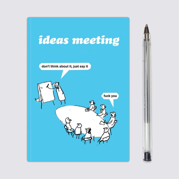 Ideas Meeting Notebook