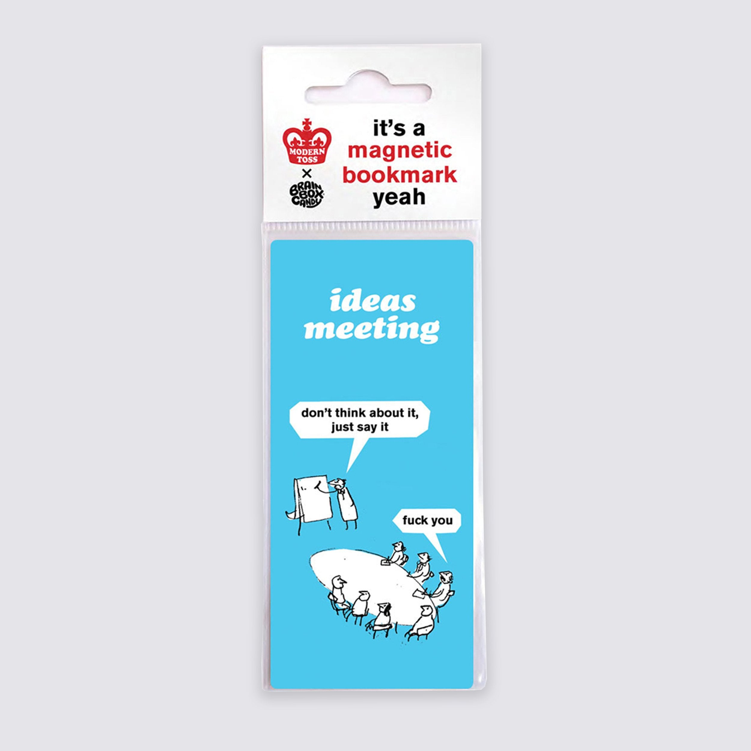 Ideas Meeting Bookmark