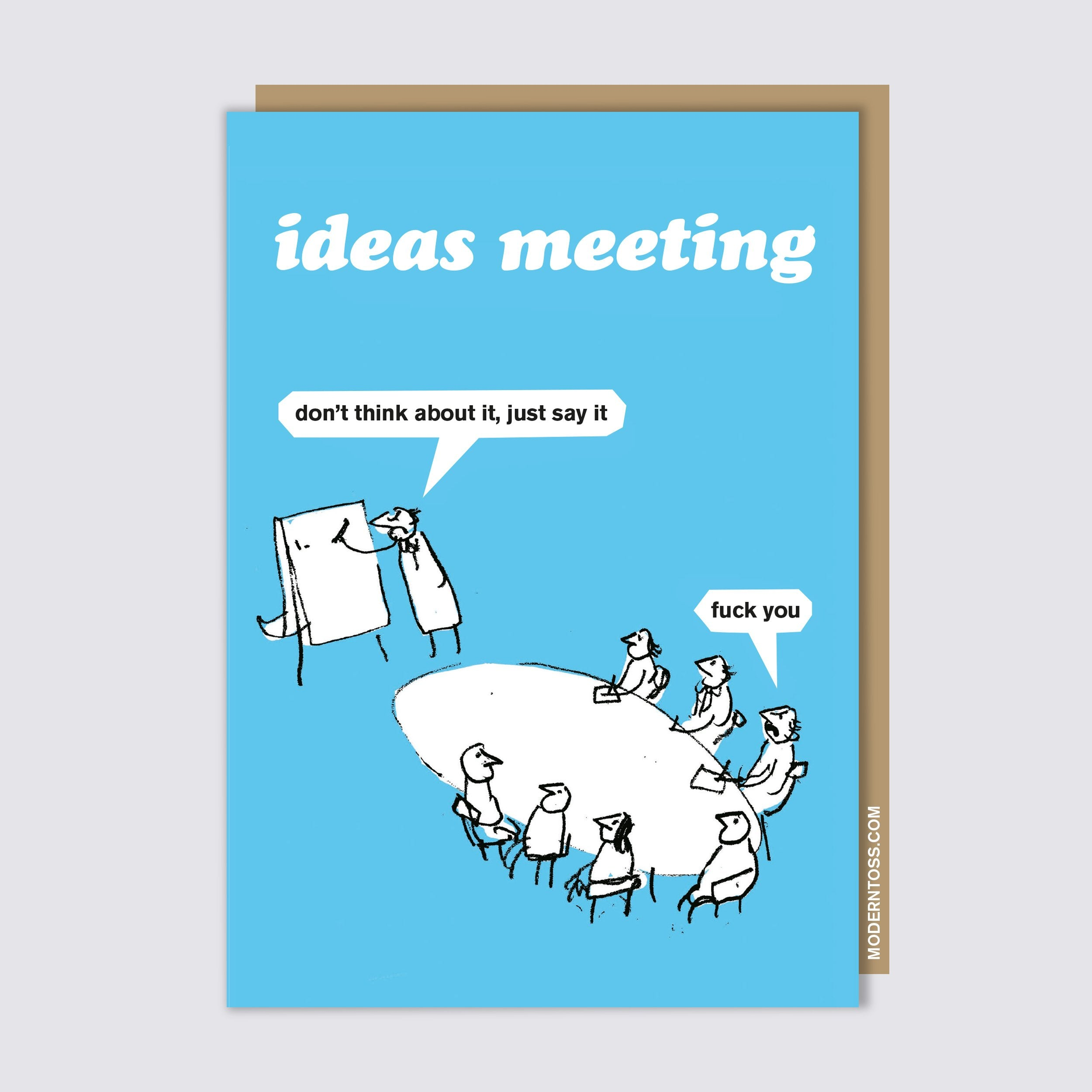 Ideas Meeting Card