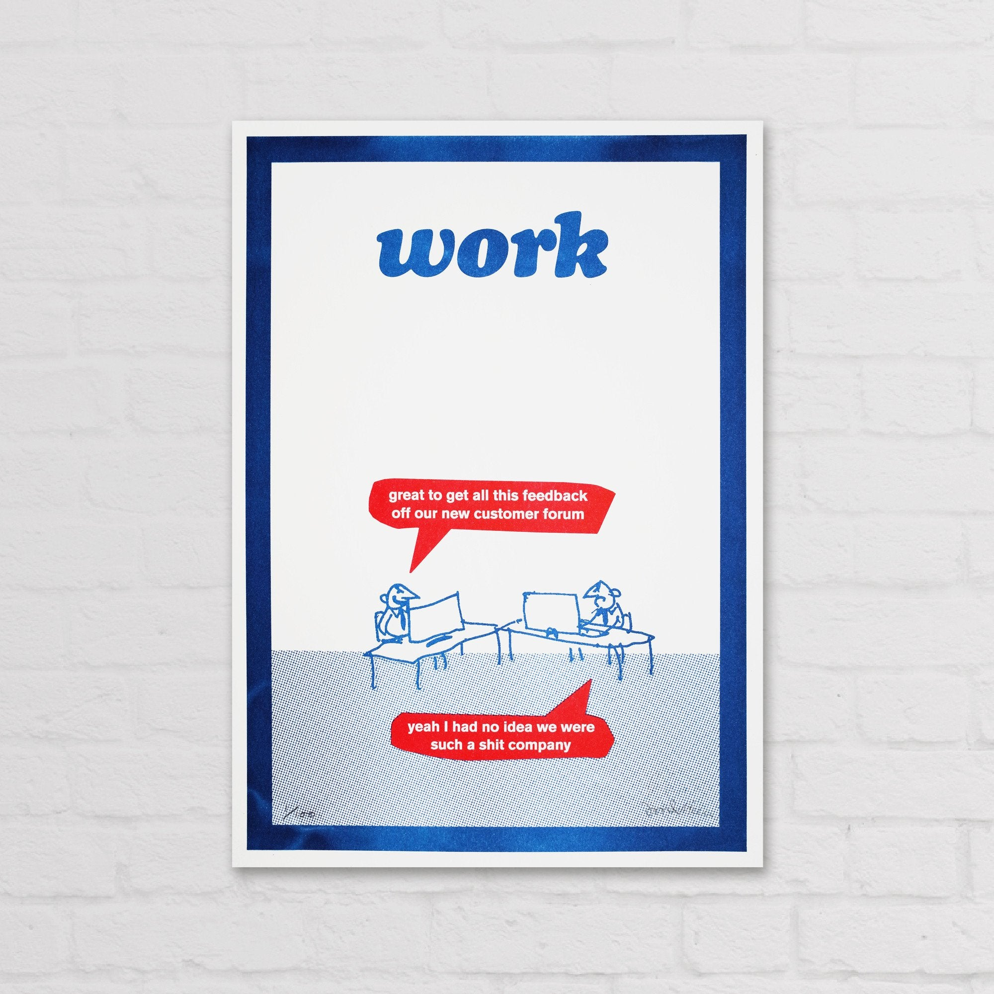 Customer Feedback Riso Print