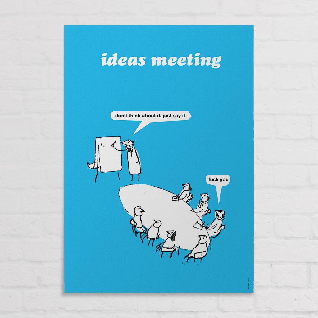 Ideas Meeting Poster