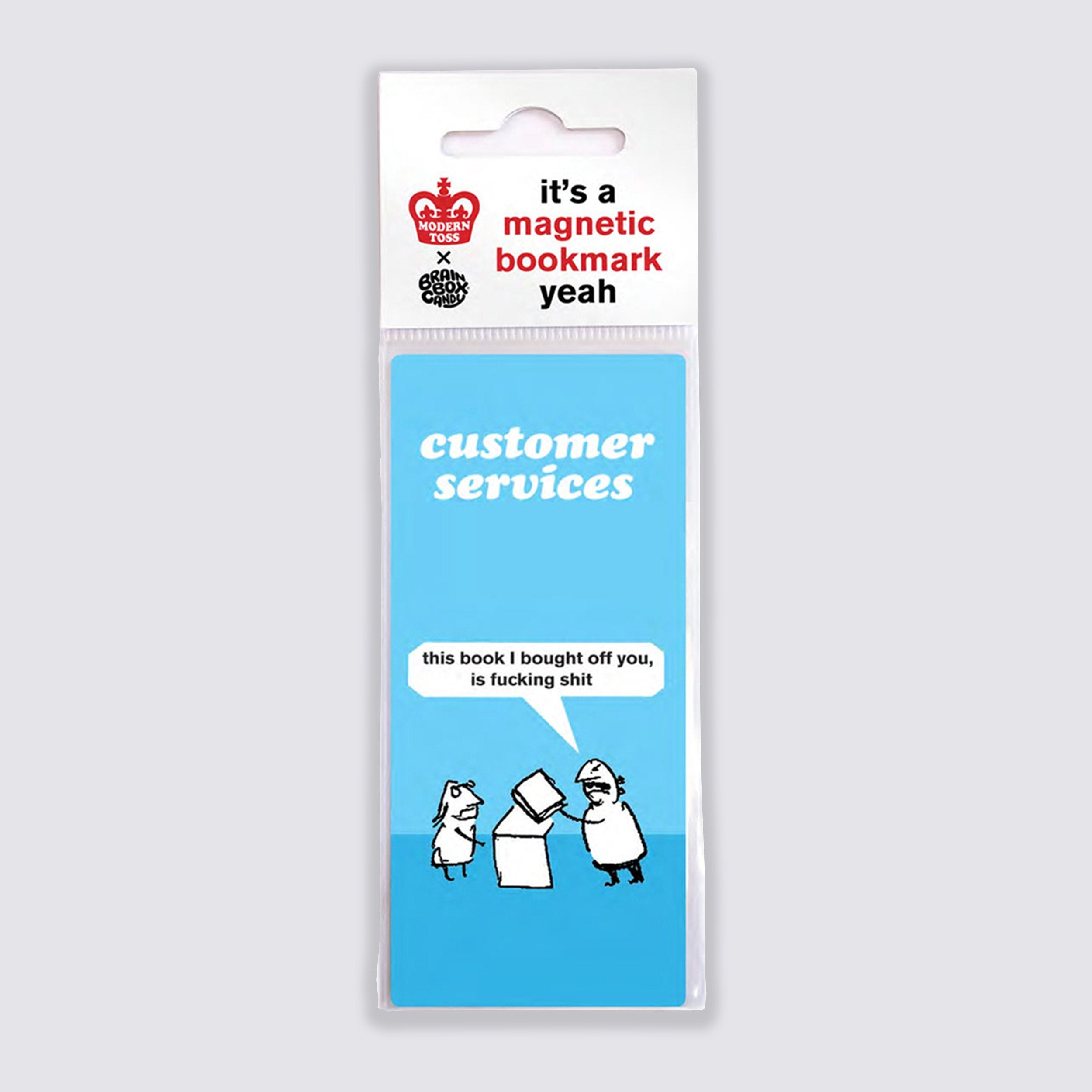 Customer Services Bookmark