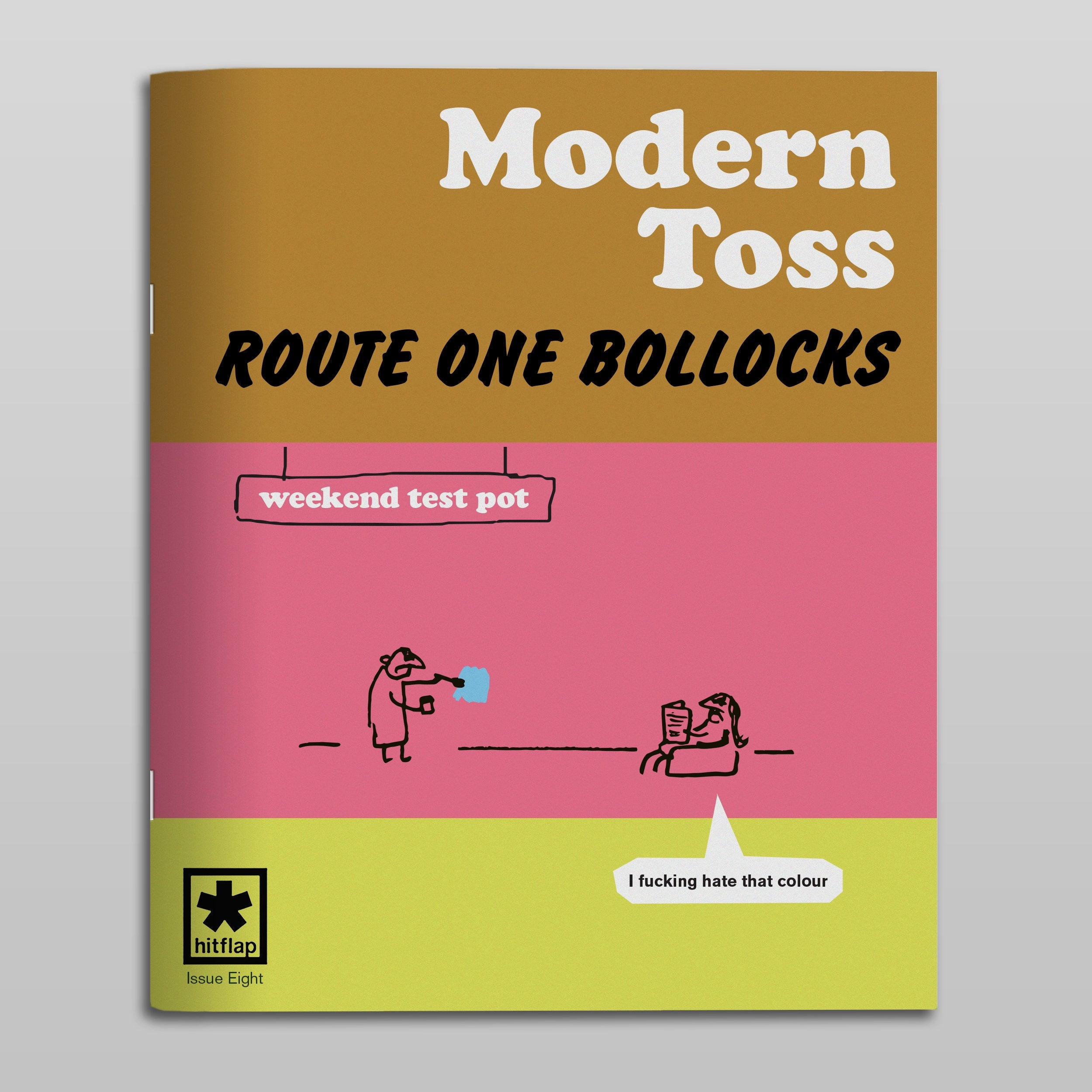 Modern Toss Comic - Issue 8