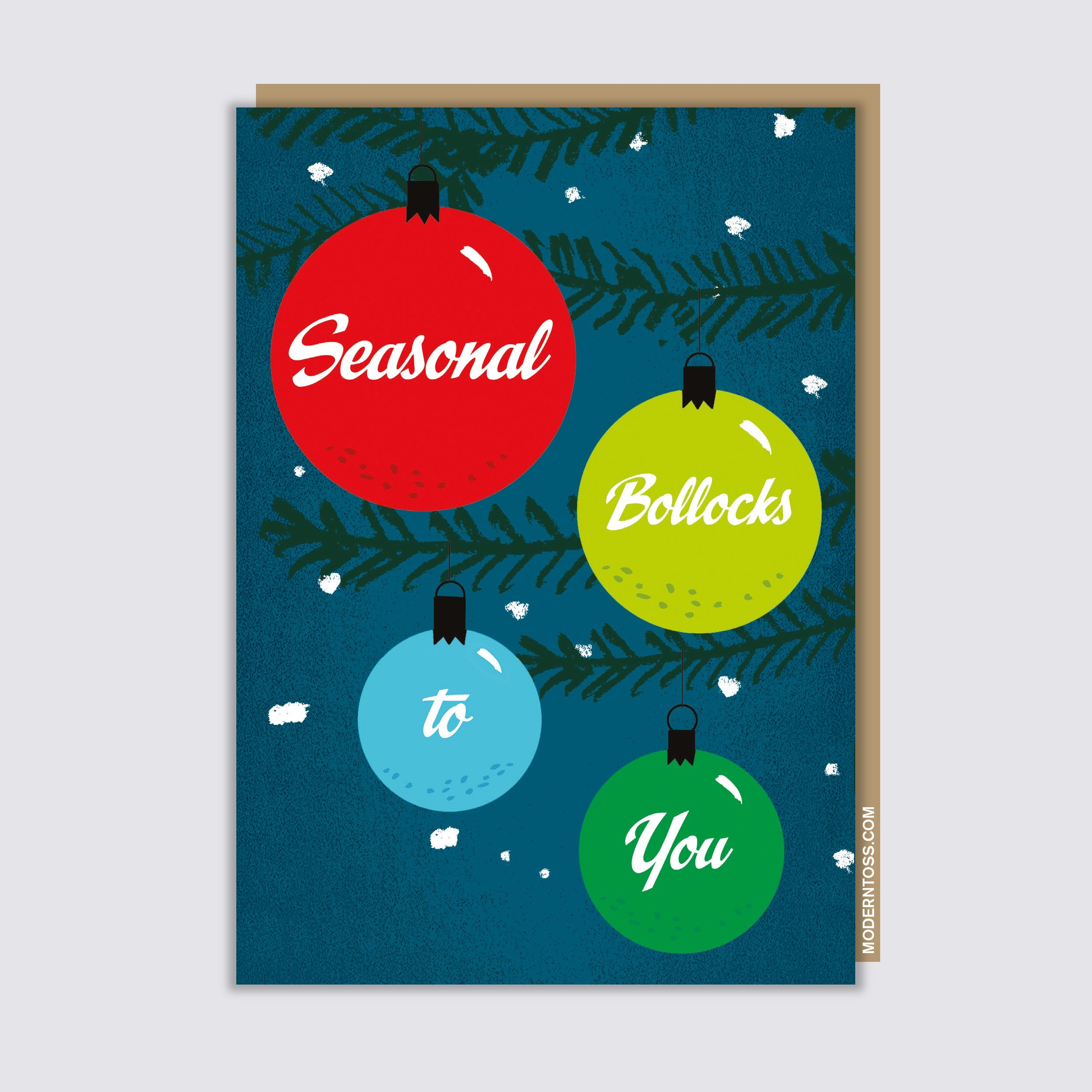 Seasonal Bollocks Card