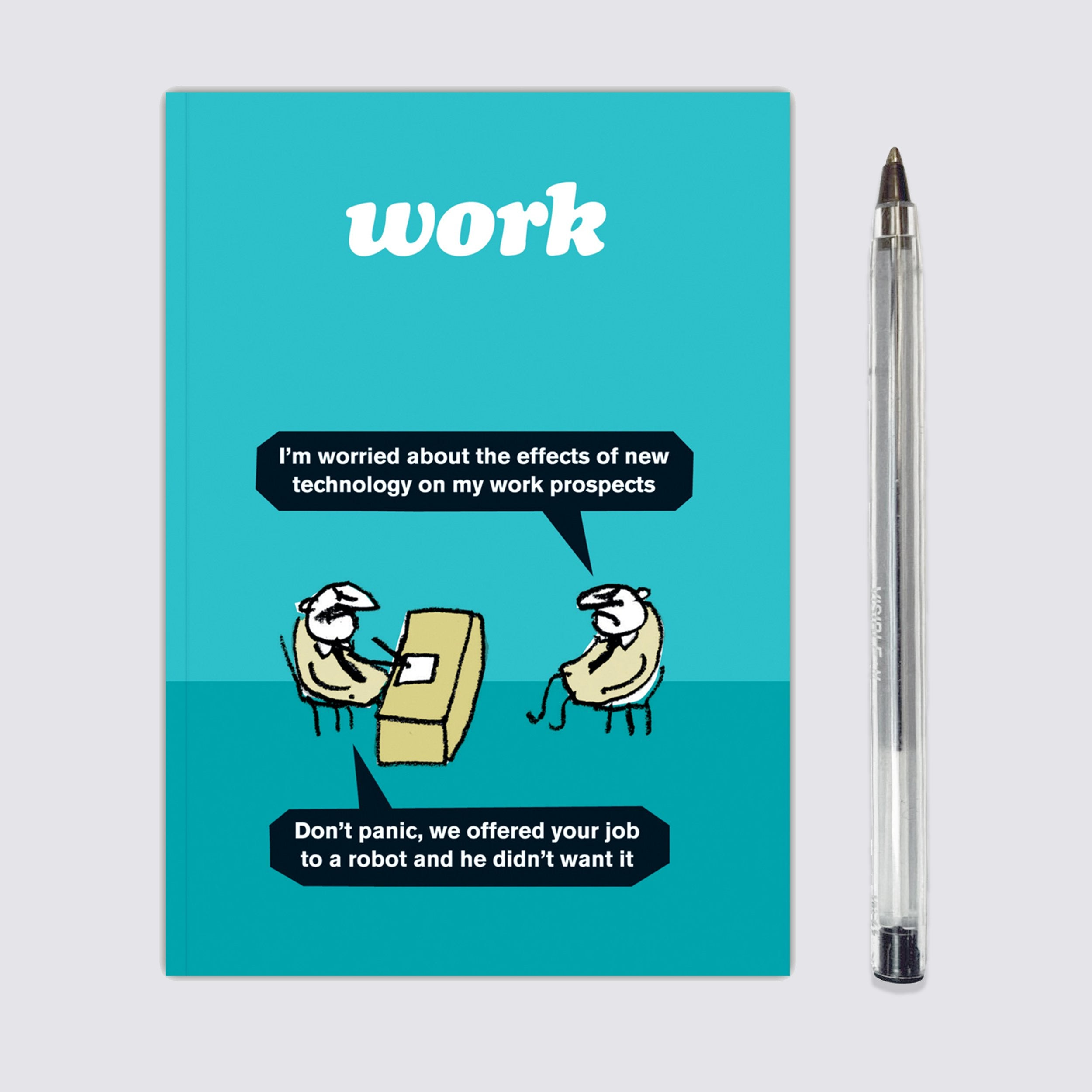 Work Robot Notebook