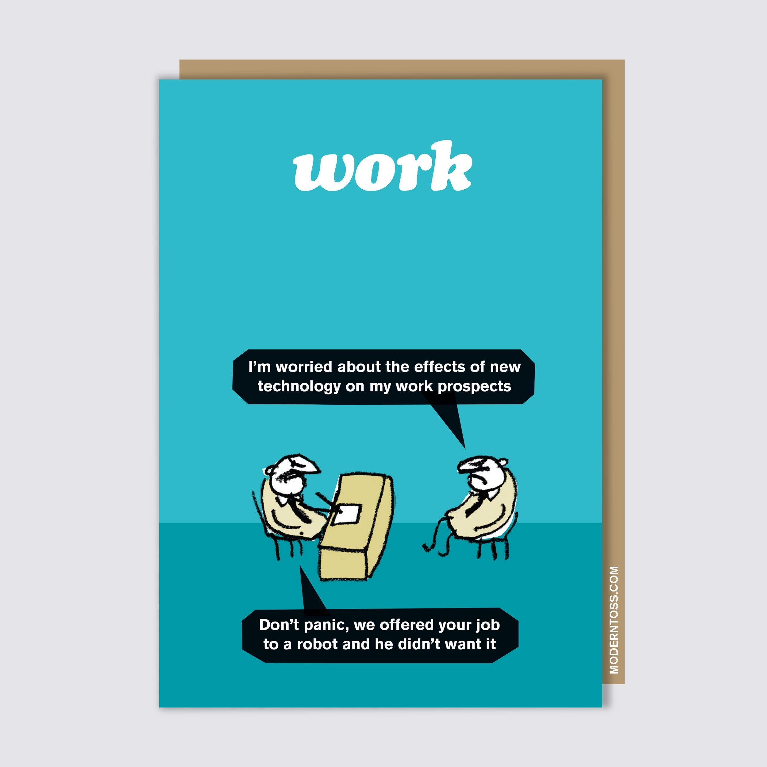 Work Robot Card