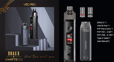 VOOPOO DRAG X & VMATE HOLIDAY KIT