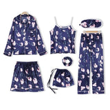 FLORIA™ 7 PCS Sleepwear Set - woleey