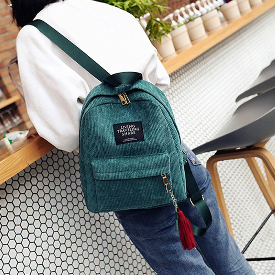 STRIPED™ Backpack - woleey