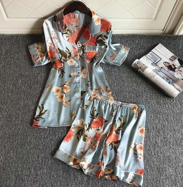 JULIA™ 3 PCS Sleepwear Sets - woleey