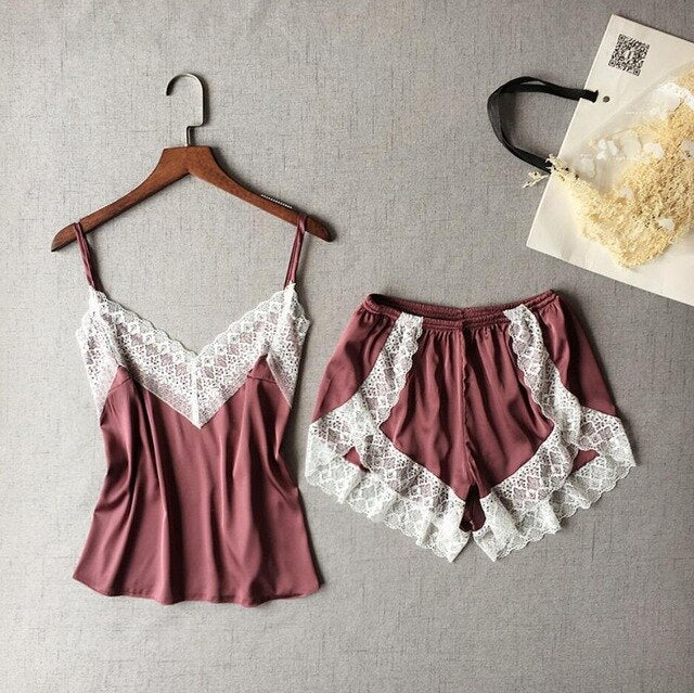 GLORIA™ cami and boxer set - woleey