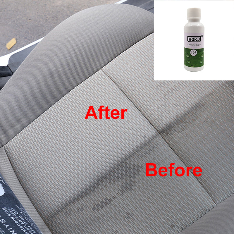1PC HGKJ-13 20ML 1:8 Dilute with water = 180ML High Concentrated Car Seat Interiors Cleaner Car Window Cleaning Car Accessories