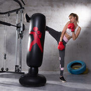 GymAtHome™ Vertical Inflatable Punching Bag