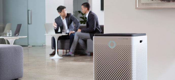 The Environmental Protection Agency (EPA) recommends using an air purifier in public spaces