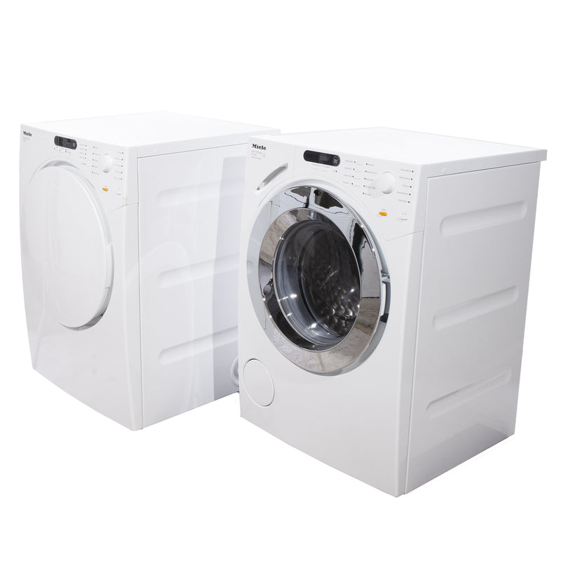 Miele 23.5'' Washer Front Load Laveuses à chargement frontal W1753 and T7634 blanc (1)