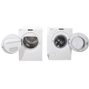 Miele 23.5'' Washer Front Load Laveuses à chargement frontal W1753 and T7634 blanc (2)