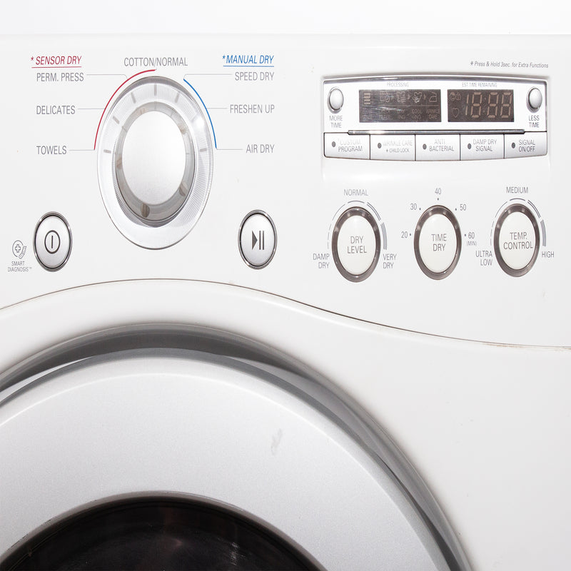 LG 27'' Stackable Laundry Pair Duos laveuse-sécheuse superposable WM2250CW and DLE2250W Blanc (3)
