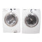 Samsung 27'' Stackable Laundry Pair Duos laveuse-sécheuse superposable WF218ANW/XAC and DV218AEW/XAC Blanc