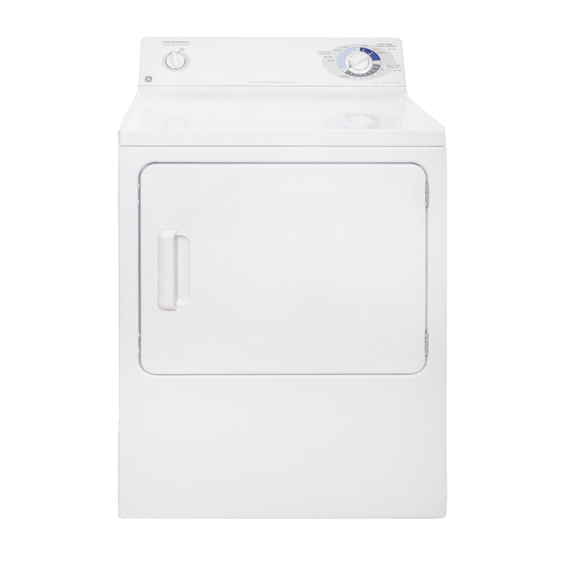GE 27'' Front Load Electric PVXR353EB1 WW Blanc