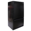 GE 30'' Bottom Freezer Réfrigérateurs TCC18ZAABRBB Noir (1)