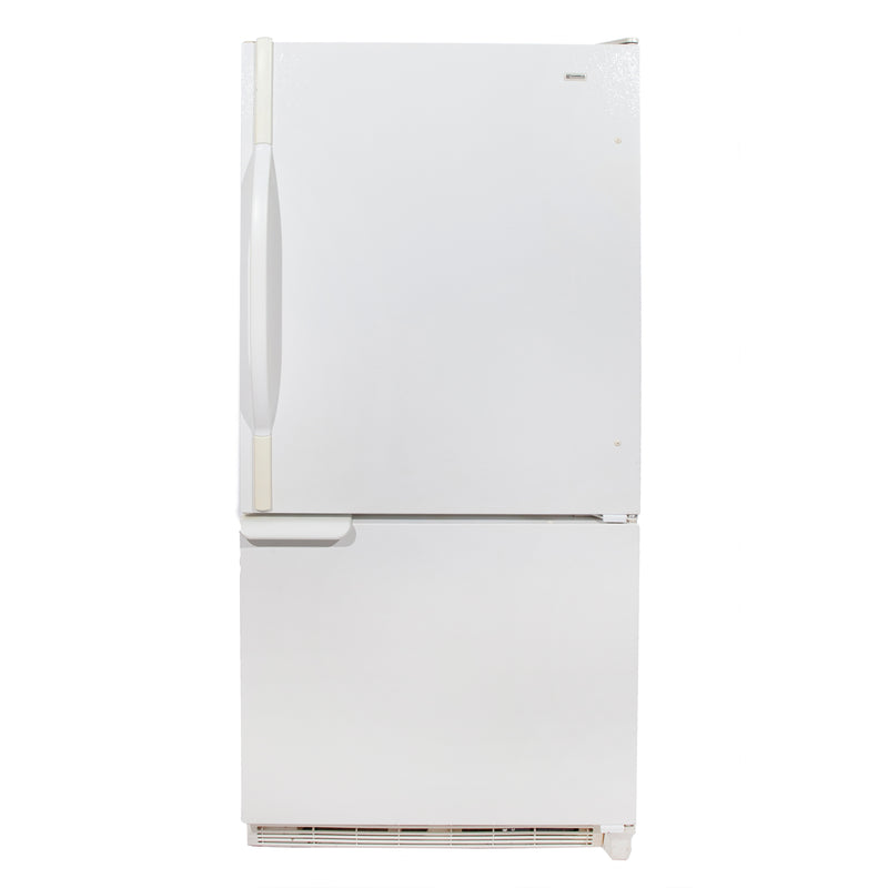 Kenmore 29.5'' Bottom Freezer Réfrigérateurs 596.69872990 Blanc
