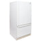 GE 30'' Bottom Freezer TCC18ZABBWW Blanc (1)