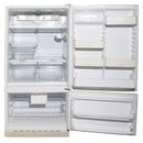 GE 30'' Bottom Freezer TCC18ZABBWW Blanc (2)