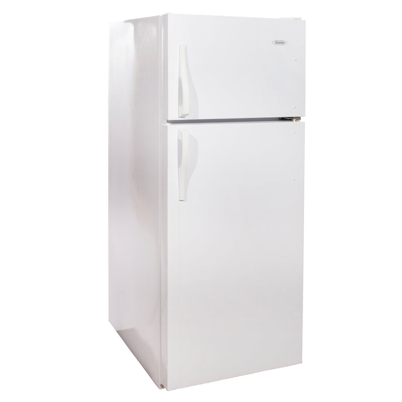 Danby 24'' Top-Freezer Réfrigérateurs DFF1170W Blanc (1)