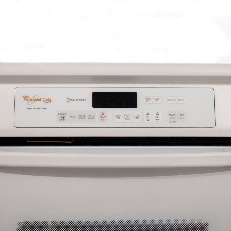 Whirlpool 25.5' Gold Fours muraux GBS277PDQ11 Blanc (3)