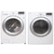 LG 27'' Stackable Laundry Pair Duos laveuse-sécheuse superposable DLE3170W and WM3170CW blanc