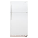 GE 28'' Top Mount Réfrigérateurs LXW18JDARW-1 Blanc