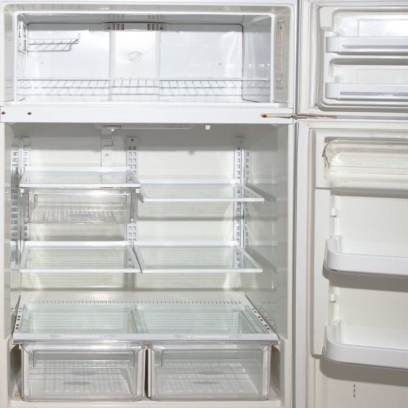 Frigidaire 28.5'' Top Freezer Réfrigérateurs FRT18QGF Blanc (3)