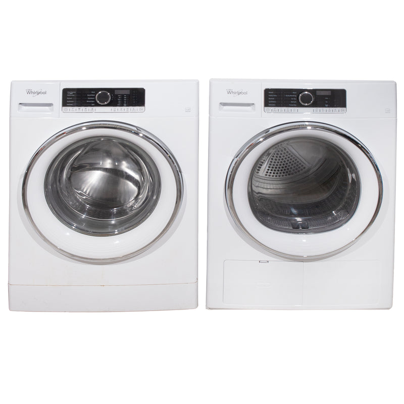 Whirlpool 24' Duos laveuse-sécheuse superposable WFW5090GW blanc