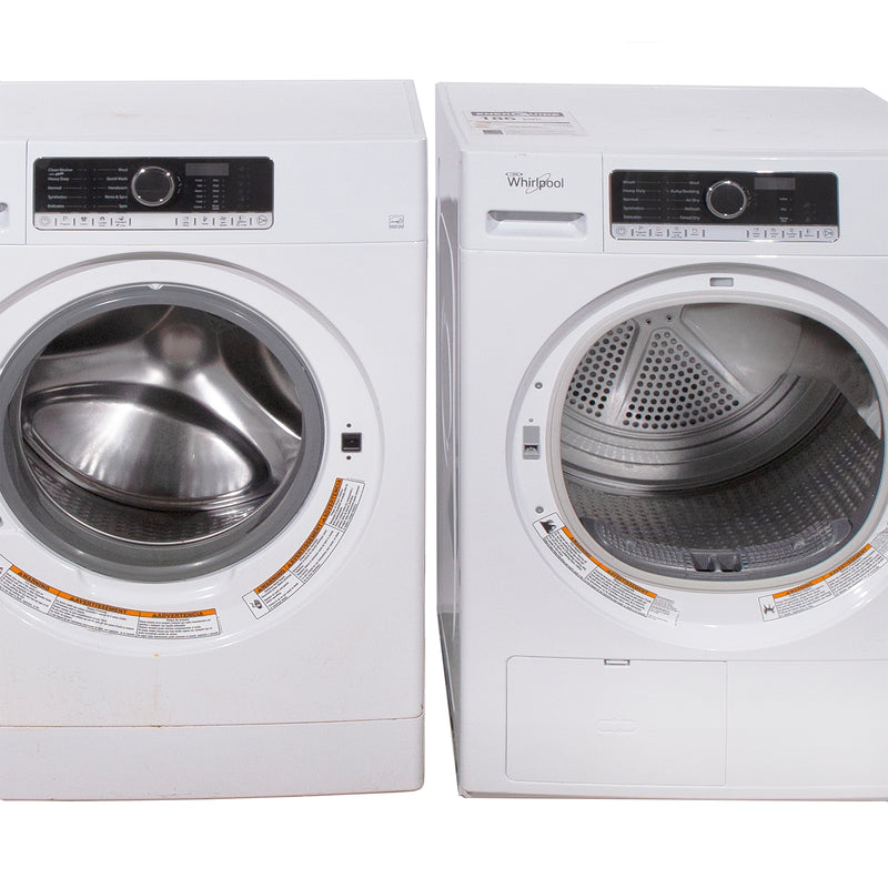 Whirlpool 24' Duos laveuse-sécheuse superposable WFW5090GW blanc (1)