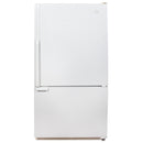 Whirlpool 33'' Bottom Mount Réfrigérateurs GB22DKXGW01 Blanc