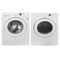 LG 27'' Stackable Laundry Pair Duos laveuse-sécheuse superposable WM2016CW and DLE2516W blanc