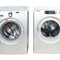 Samsung 27'' Stackable Laundry Pair Duos laveuse-sécheuse superposable WF218ANS/XAC and DV339AESXAC argent (1)