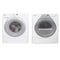 Whirlpool 27'' Stackable Laundry Pair Duos laveuse-sécheuse superposable YWED8500SR0 and WFW8300SW04 Blanc