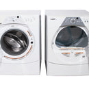 Whirlpool 27'' Stackable Laundry Pair Duos laveuse-sécheuse superposable YWED8500SR0 and WFW8300SW04 Blanc (1)