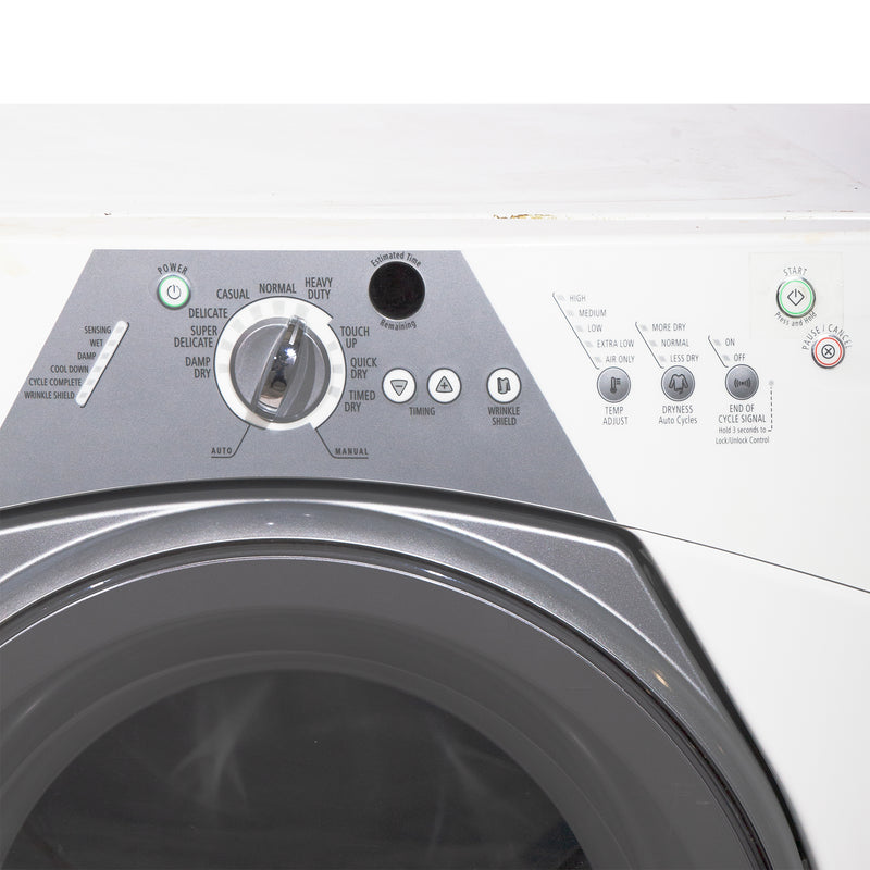 Whirlpool 27'' Stackable Laundry Pair Duos laveuse-sécheuse superposable YWED8500SR0 and WFW8300SW04 Blanc (2)