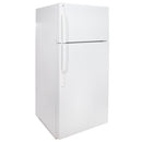 GE 27.5' Top Freezer Réfrigérateurs GTS18HBSARWW Blanc (1)