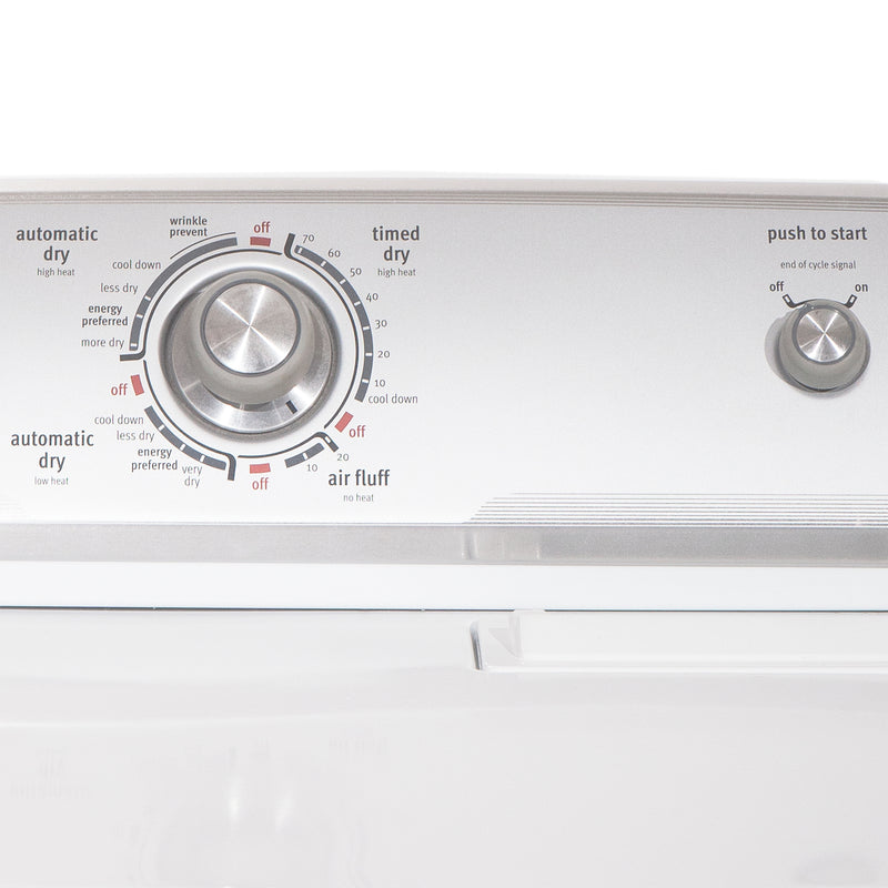 Maytag 27'' and 29'' Laundry Pair Duos de lessive MTW5740TQ0 and YMEDC200XW1 Blanc (1)